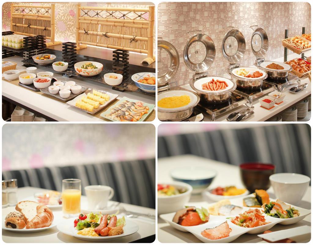 近鐵京都站都城市飯店早餐