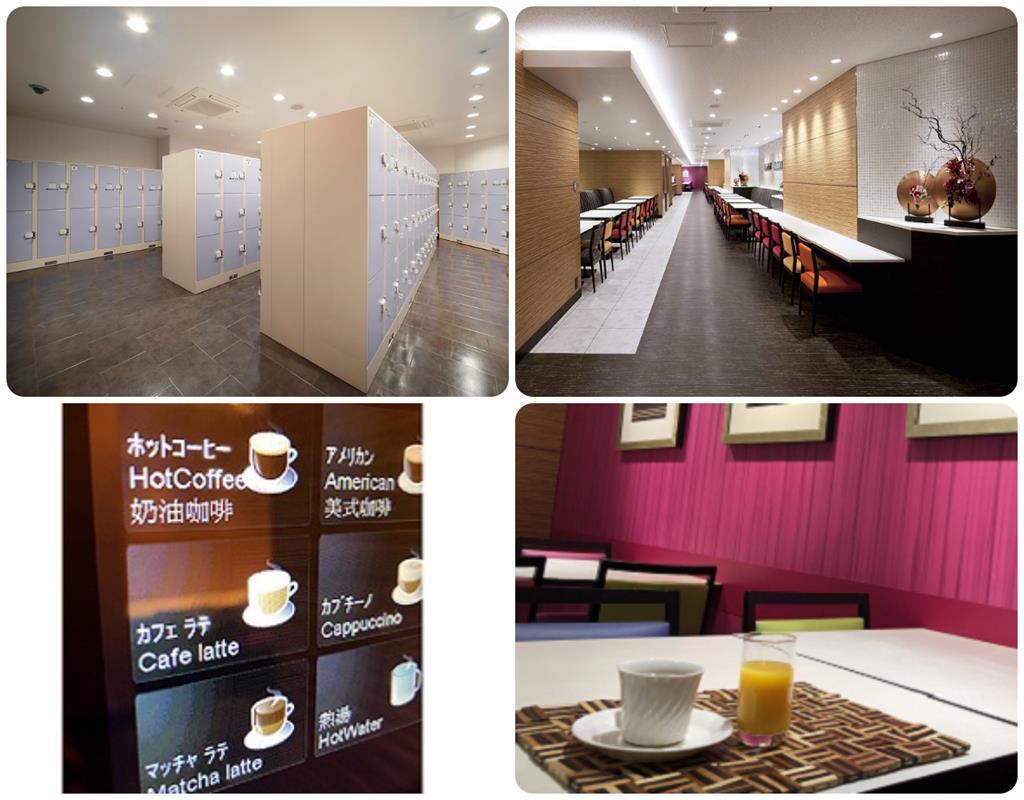 近鐵京都站都城市飯店置物櫃及休息區