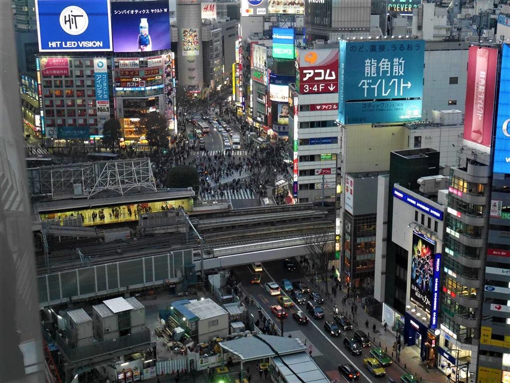 東京涉谷街頭