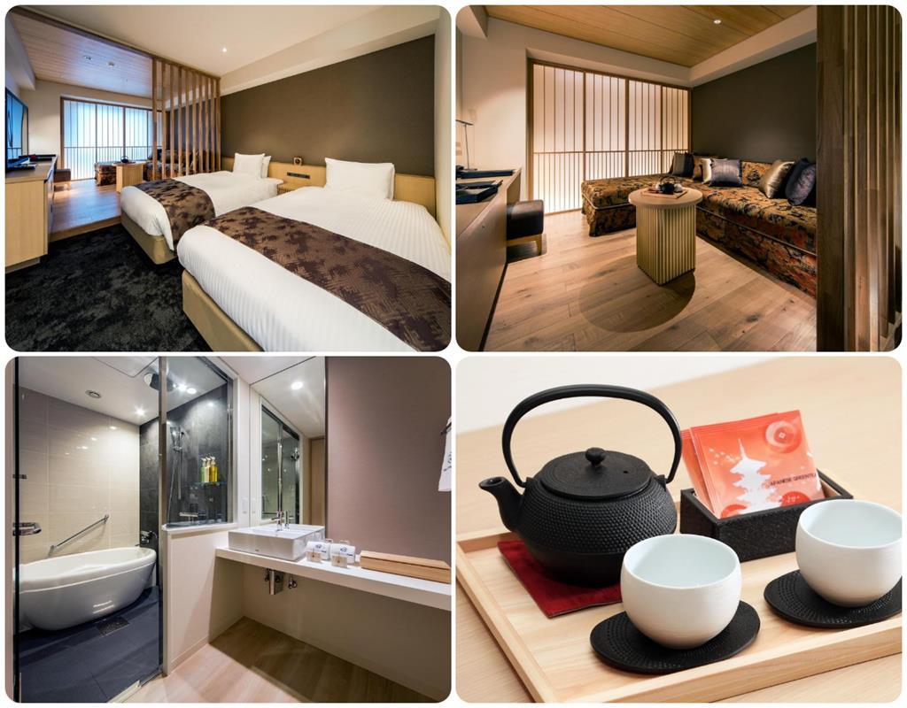 京都站前大和Roynet飯店行政雙床房