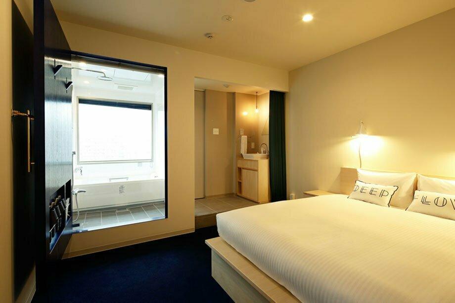 清澄The Share Hotel Lyuro 河景雙人床房