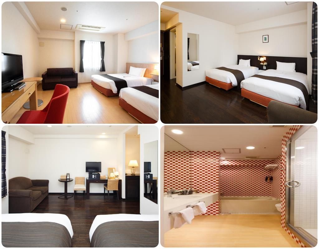 大阪Arietta飯店高級雙床房型