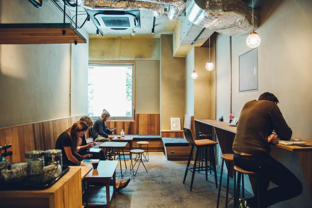 CITAN Hostel 廚房及小圖書室休息區