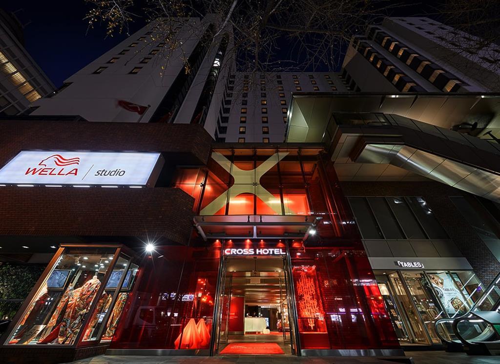 大阪住宿Cross Hotel