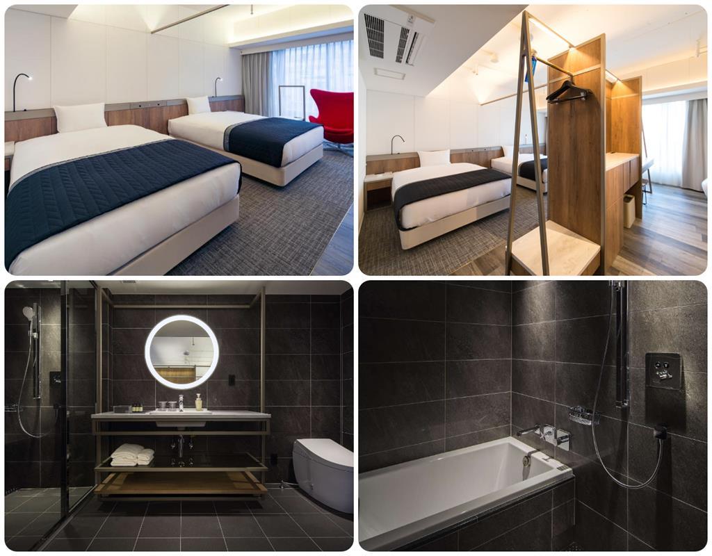 大阪Hotel the FLAG豪華雙床房