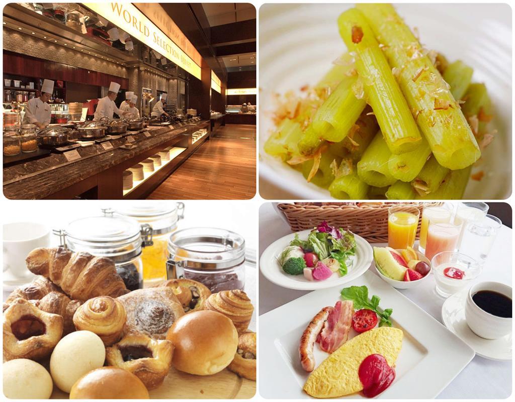 京都格蘭比亞飯店Le temps法式餐廳Buffet早餐