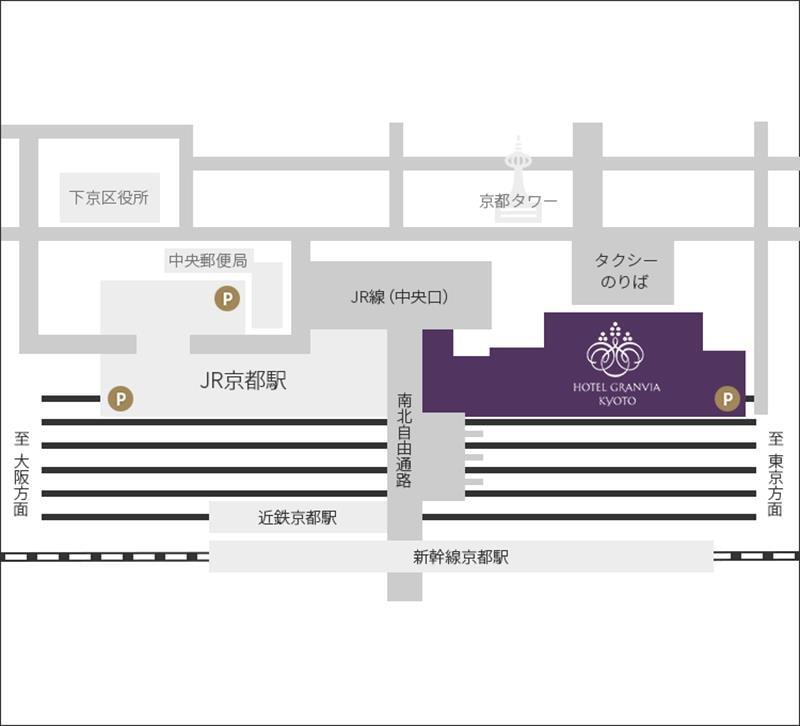 京都飯店格蘭比亞位置
