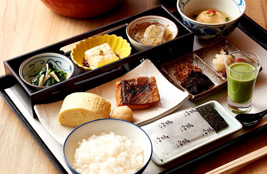 京都格蘭比亞飯店浮橋日式餐廳早餐