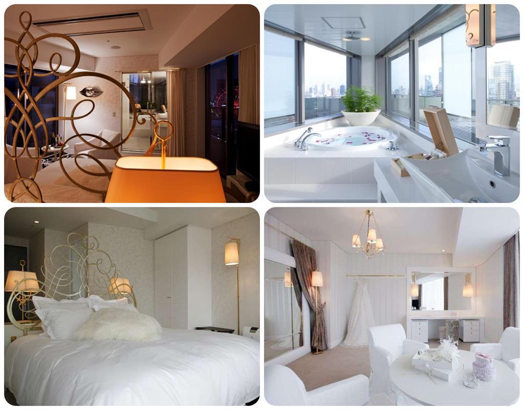 大阪Harmonie Embrassee 飯店Ever White房