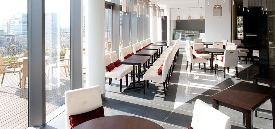 大阪Harmonie Embrassee 飯店咖啡店