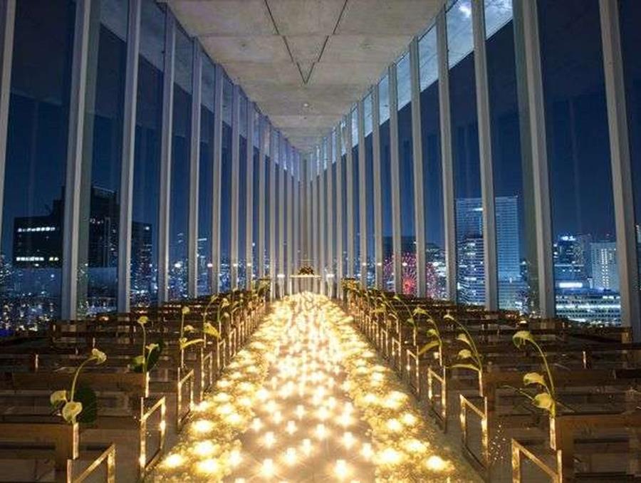 大阪Harmonie Embrassee 飯店天空教堂