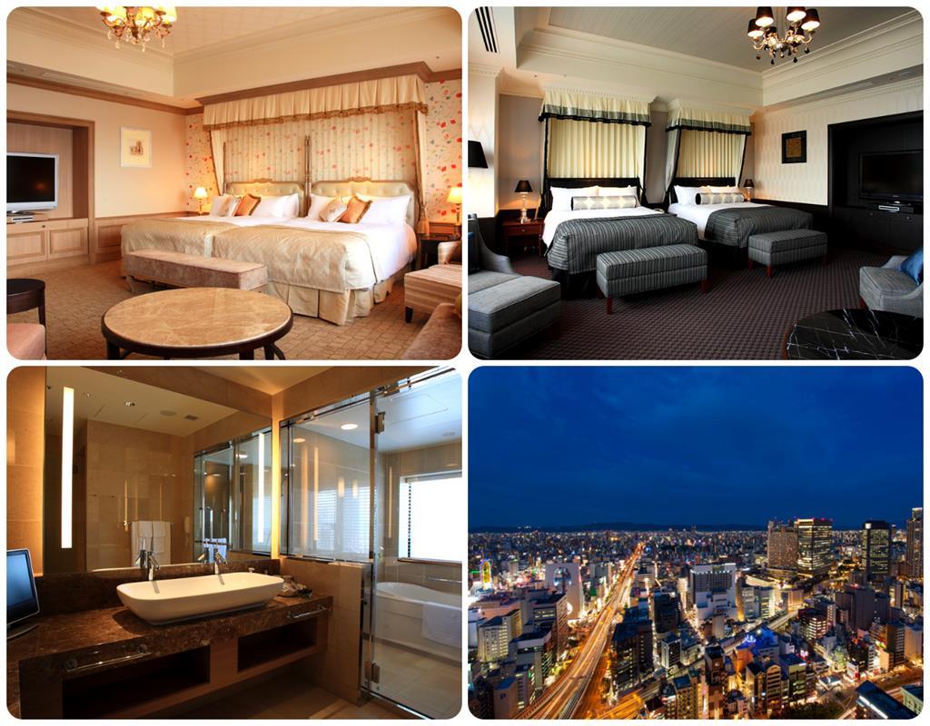 大阪Monterey Grasmere飯店頂樓高級套房