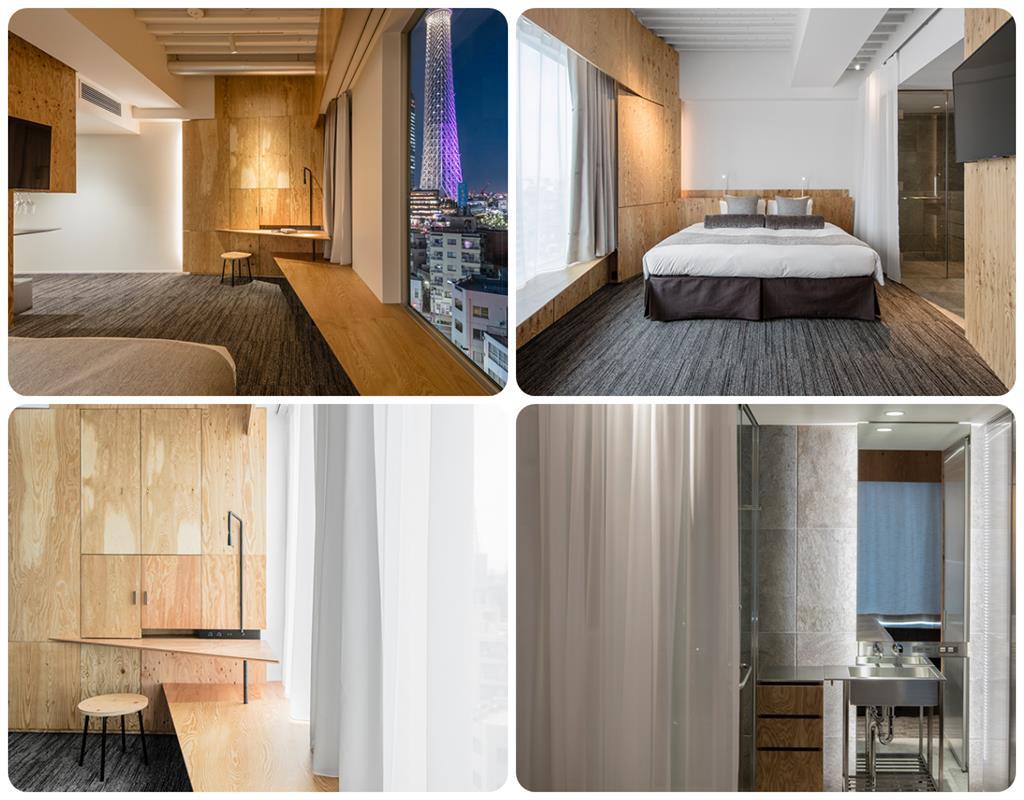 ONE@Tokyo飯店Loft房型