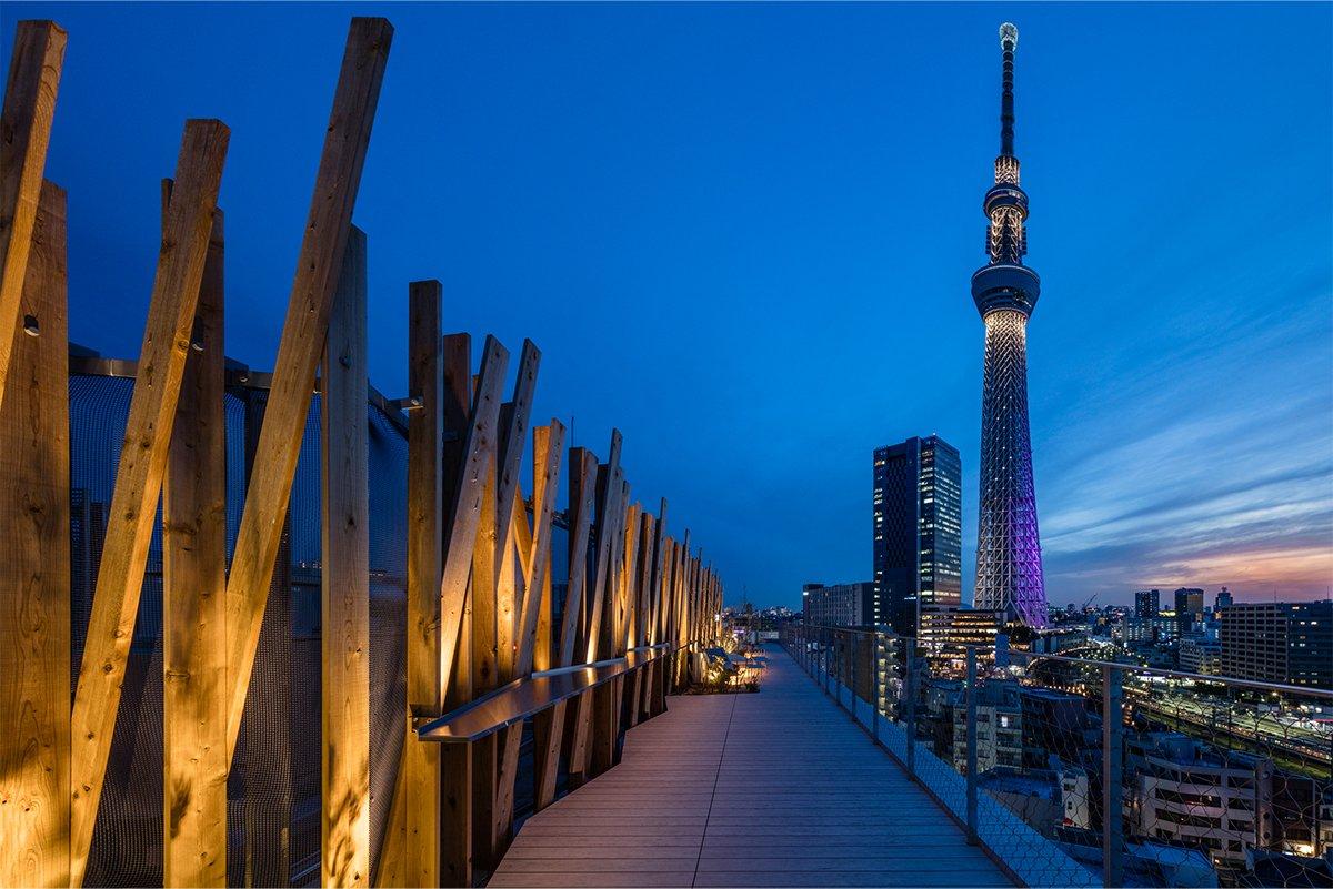 ONE@Tokyo飯店頂樓
