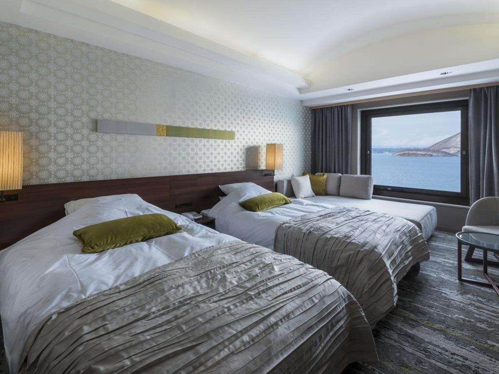 洞爺湖Sun Palace飯店現代風洋室