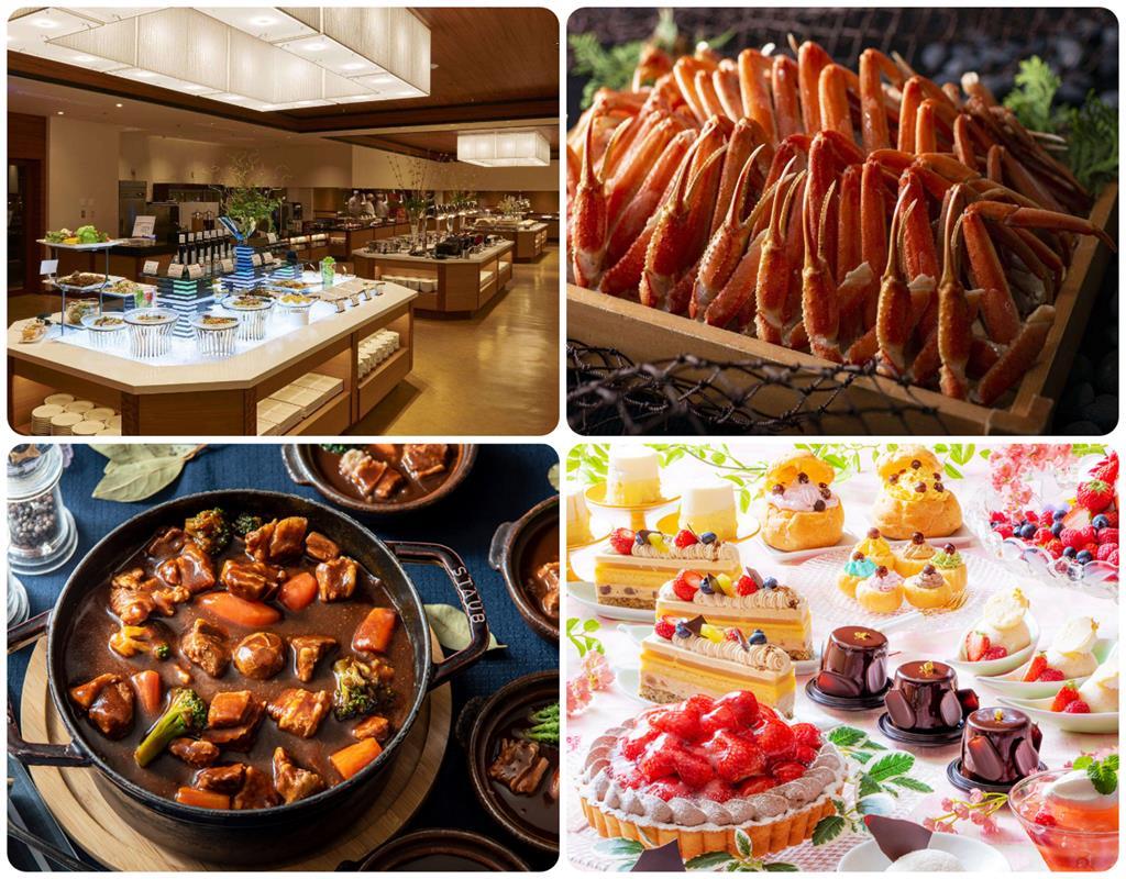 洞爺湖Sun Palace飯店晚餐料理