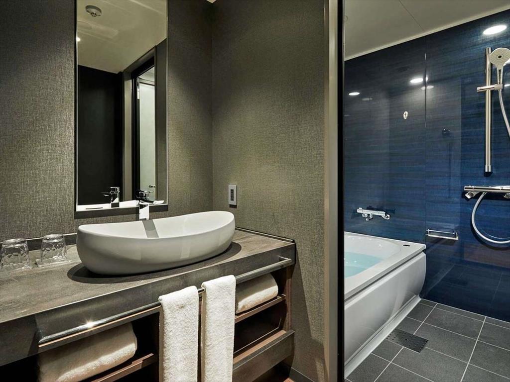 京都比偲奇亞飯店房間浴室