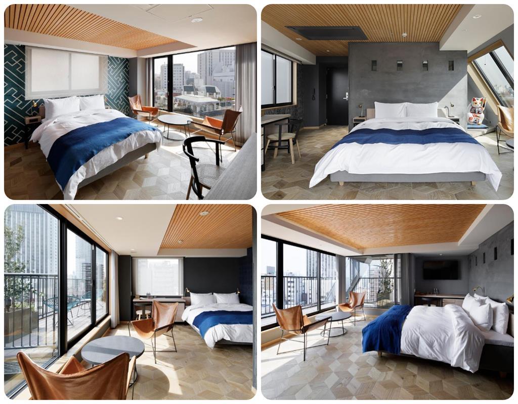 淺草飯店WIRED HOTEL房型