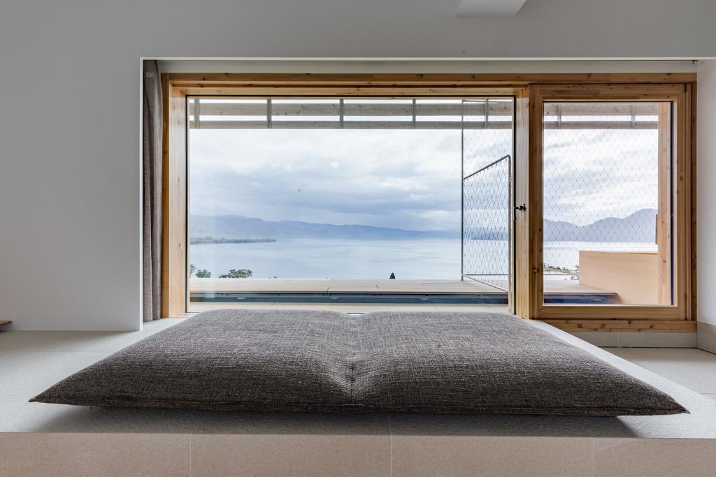 洞爺湖We Hotel飯店房間窗景