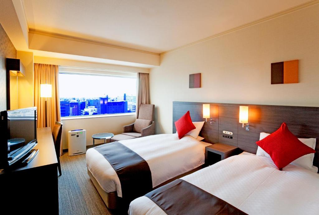 札幌世紀皇家飯店Stylish雙床房