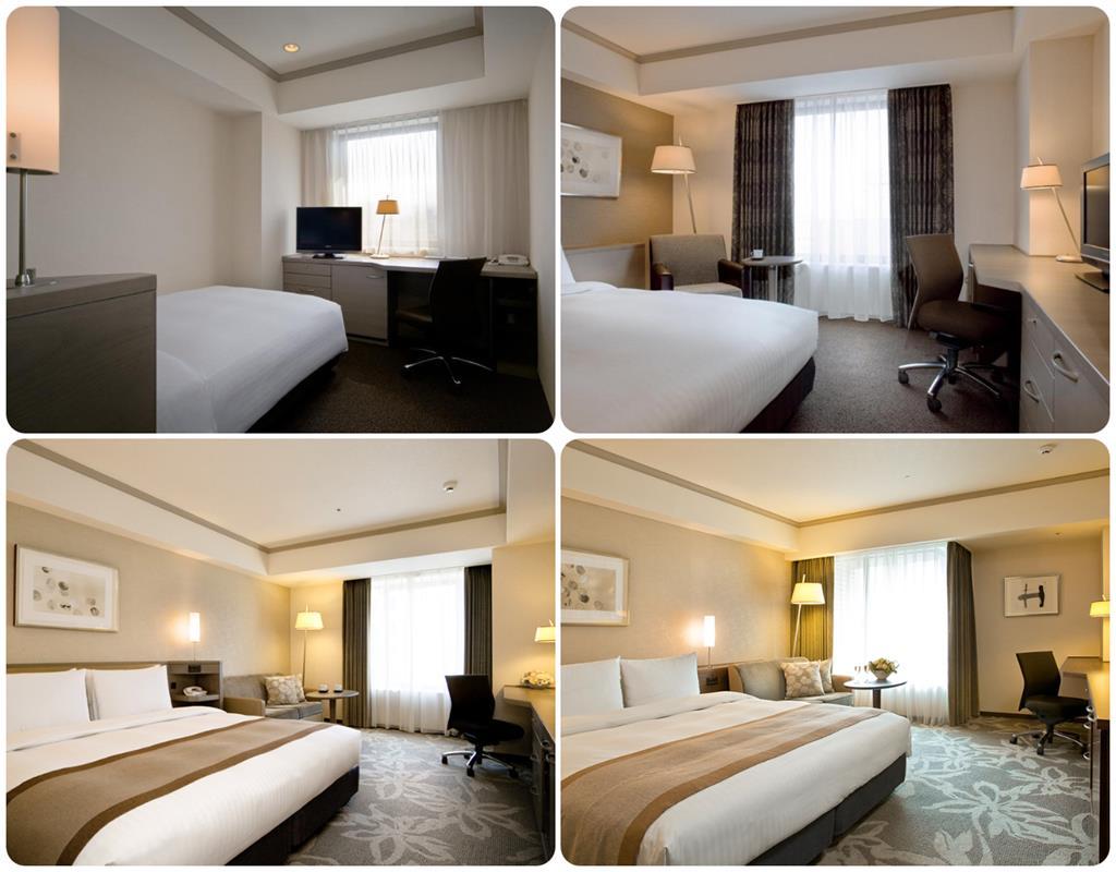 福岡日航飯店單人床及雙人床房型