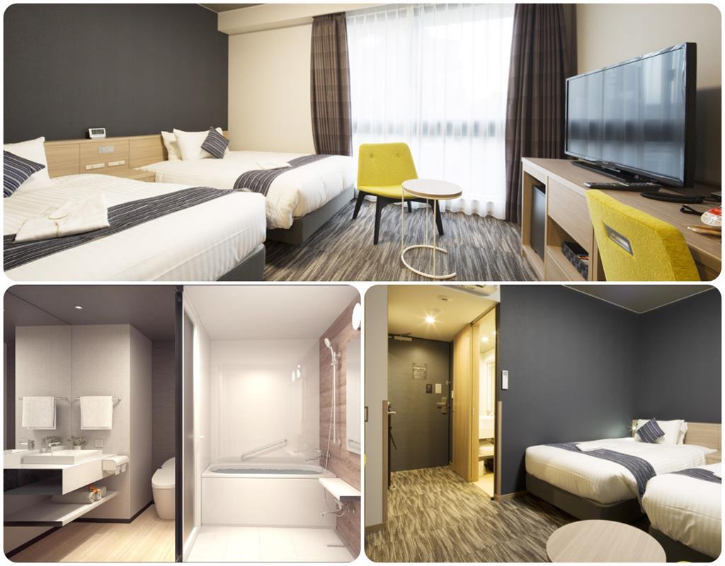 博多靜鐵飯店高級雙床房