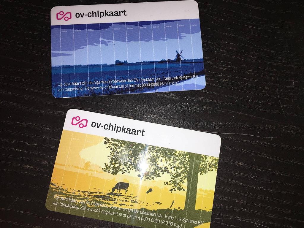 荷蘭ov card