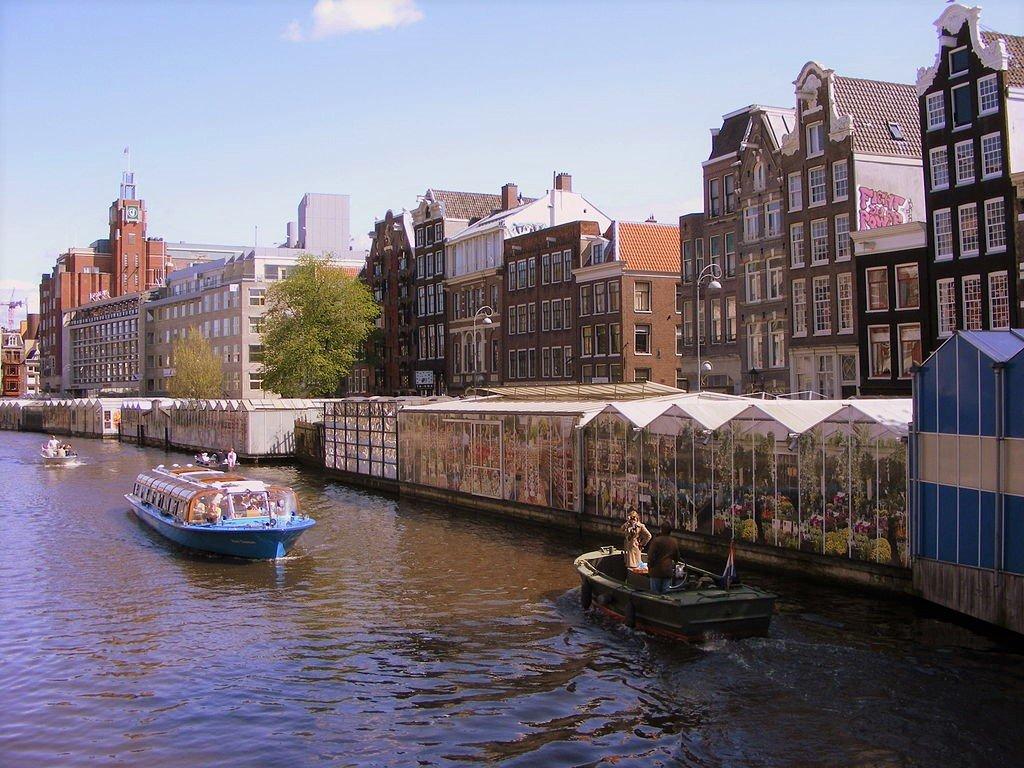 阿姆斯特丹辛格花市(Singel Bloemenmarkt)