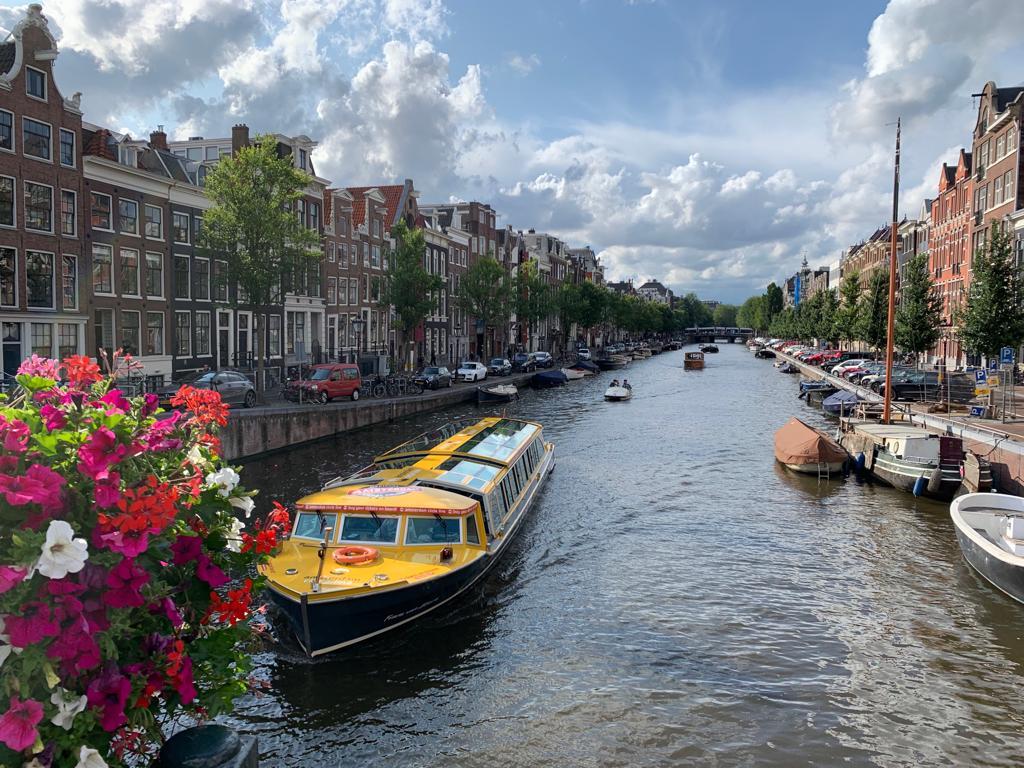 阿姆斯特丹運河遊船(Amsterdam canal cruise)