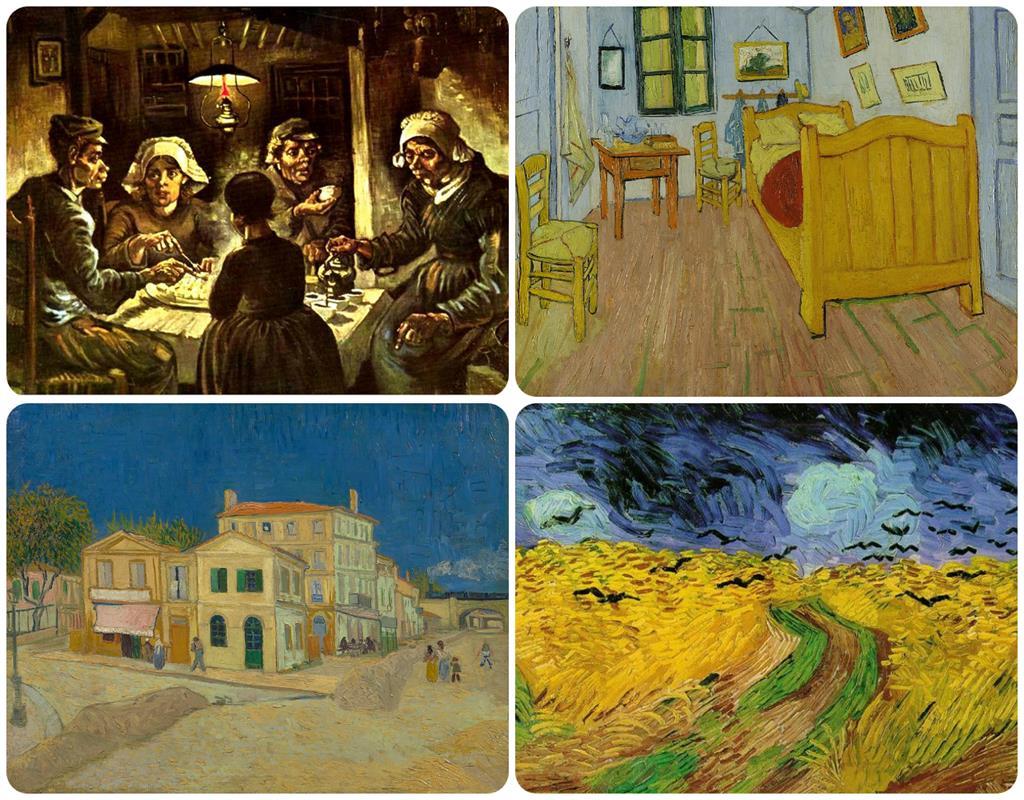 梵谷博物館收藏畫作