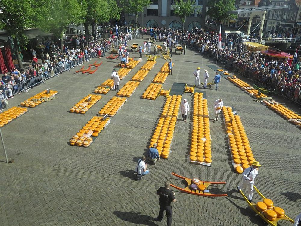 荷蘭起司交易市集Alkmaar