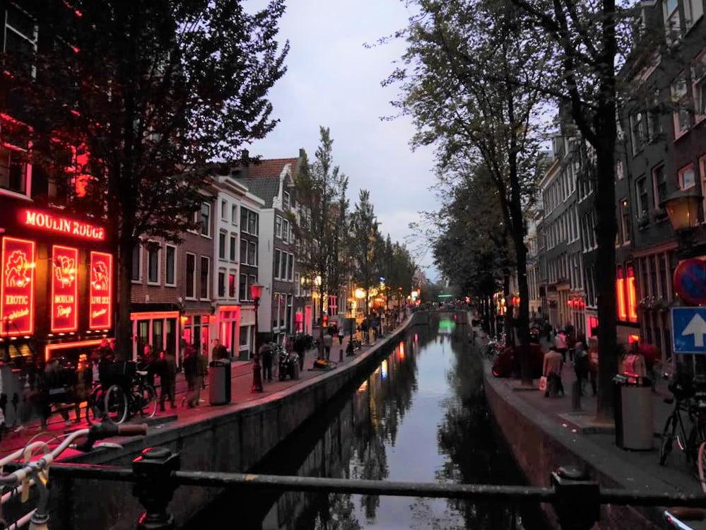 阿姆斯特丹紅燈區(Red-Light District)