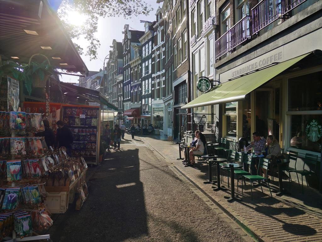 阿姆斯特丹景點辛格花市(Singel Bloemenmarkt)