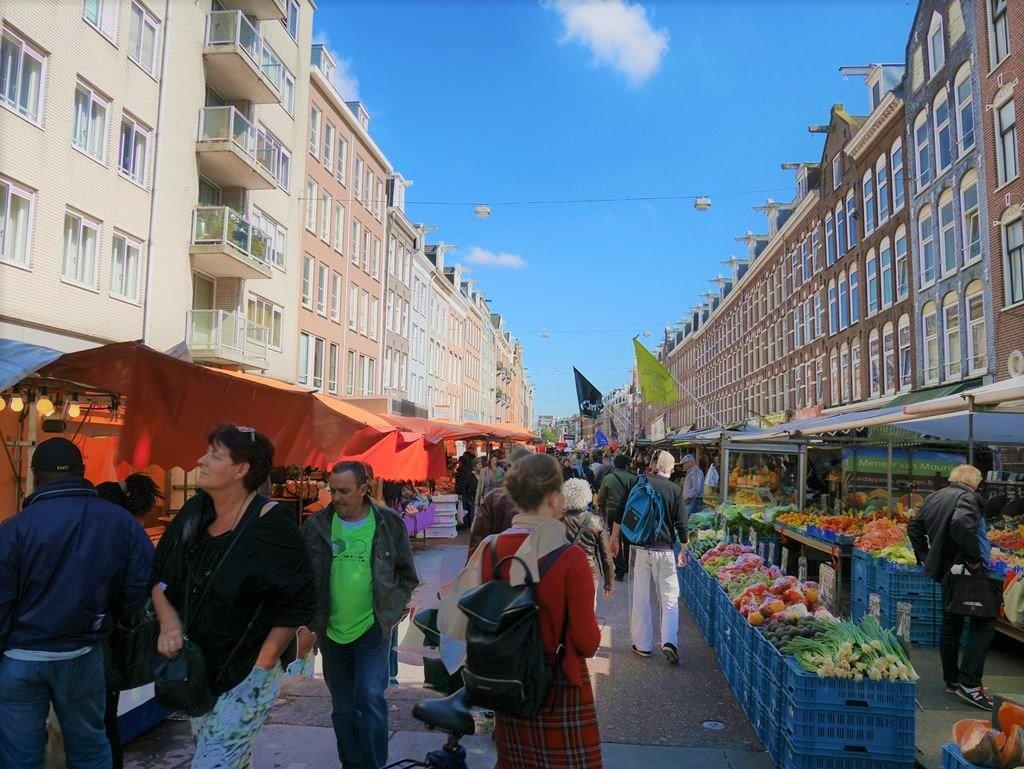 阿姆斯特丹自由行Albert Cuyp Market