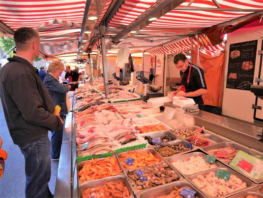 Albert Cuyp Market鮮魚店