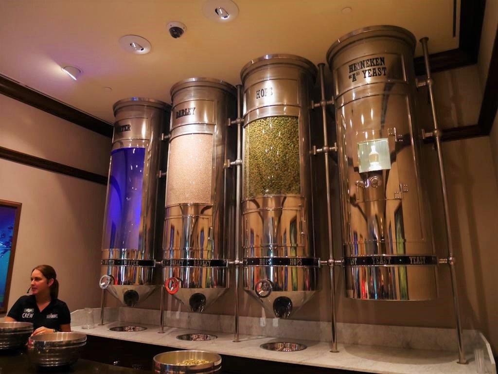 海尼根啤酒博物館原料介紹