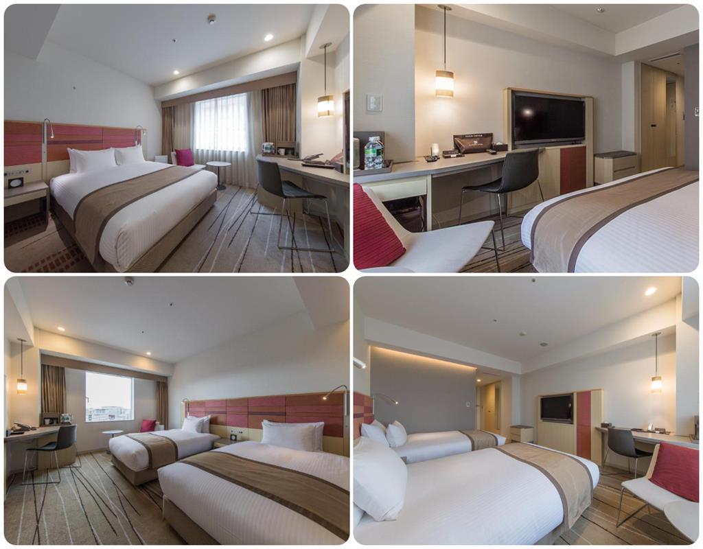 JR九州飯店Blossom博多中央標準房型