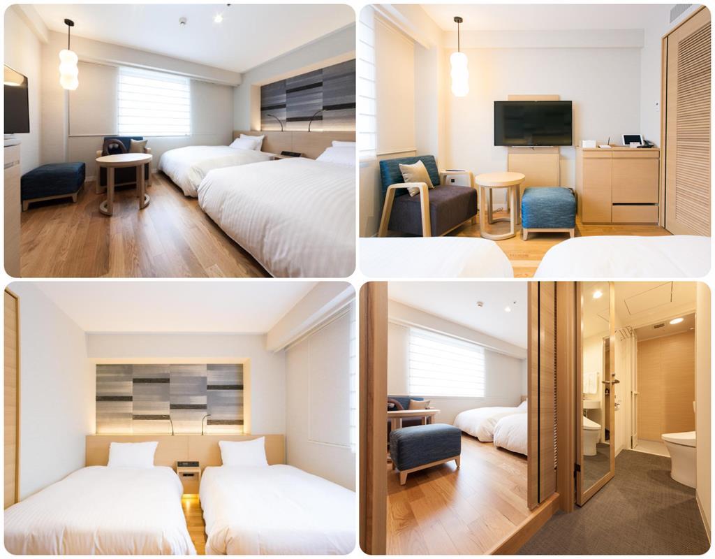 博多西鐵Croom飯店雙床房