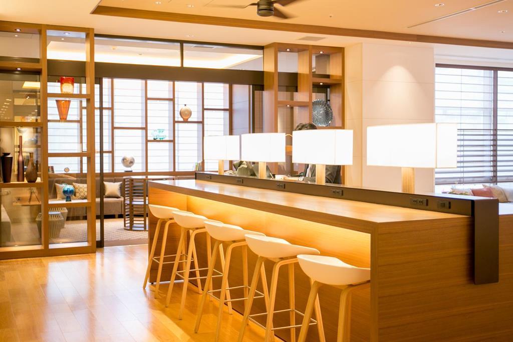 福岡飯店博多西鐵Croom公共休息區