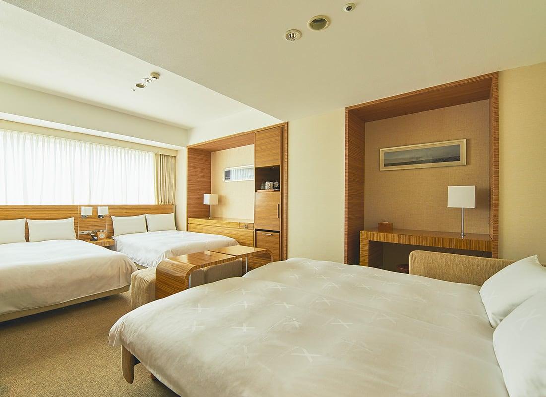 札幌Cross Hotel 4人床房Natural style
