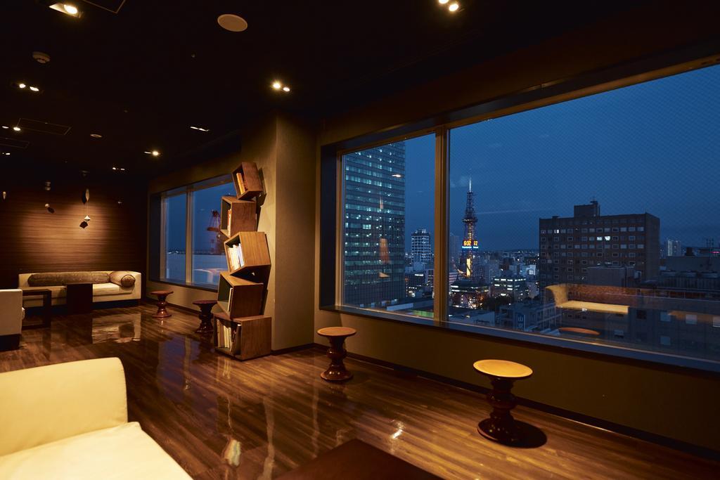 札幌Cross Hotel頂樓大浴場場旁休息室