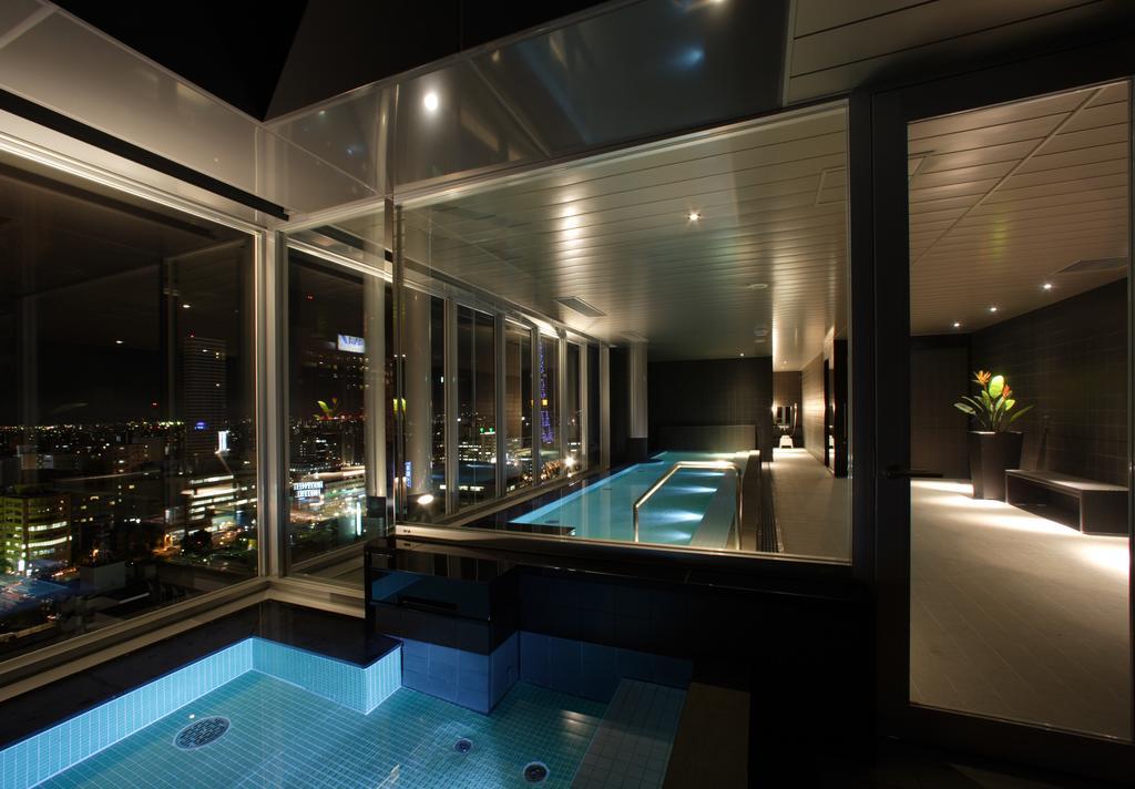 札幌Cross Hotel頂樓大浴場
