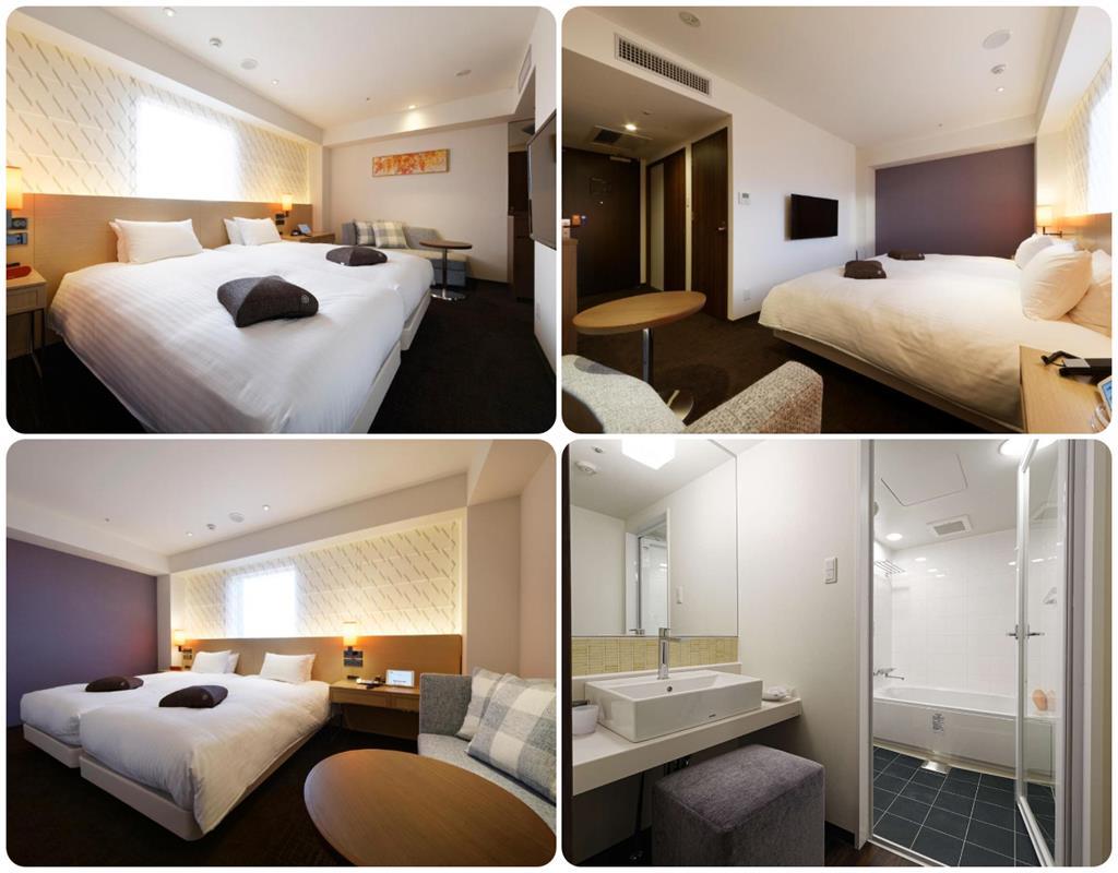 福岡Forza飯店博多口店雙床房型
