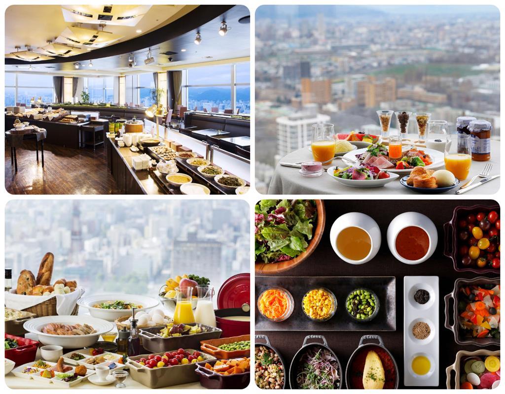 札幌JR Tower日航飯店Buffet早餐