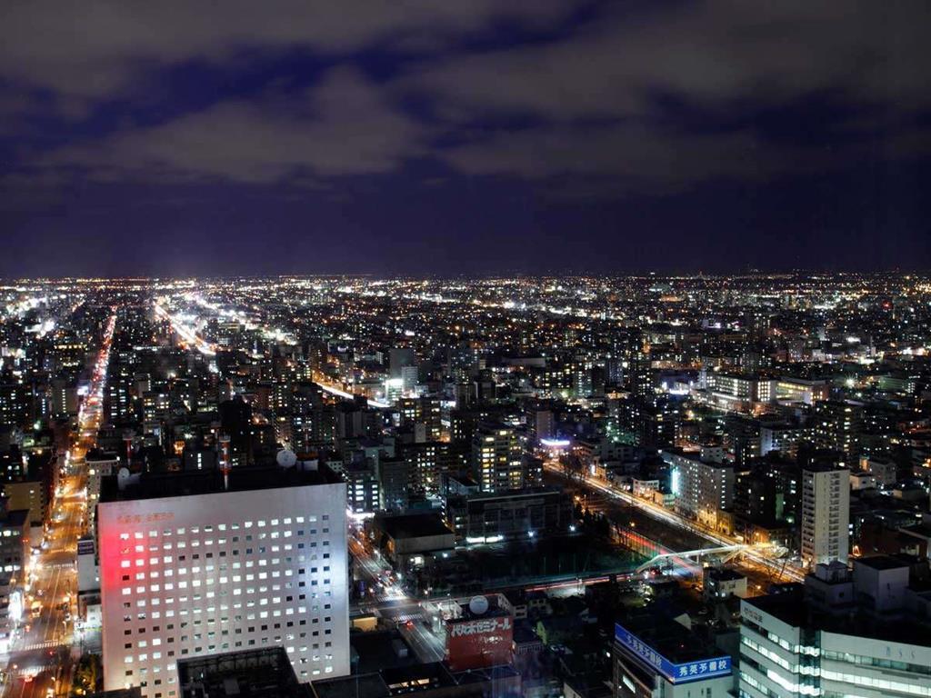 札幌JR Tower日航飯店房間夜景