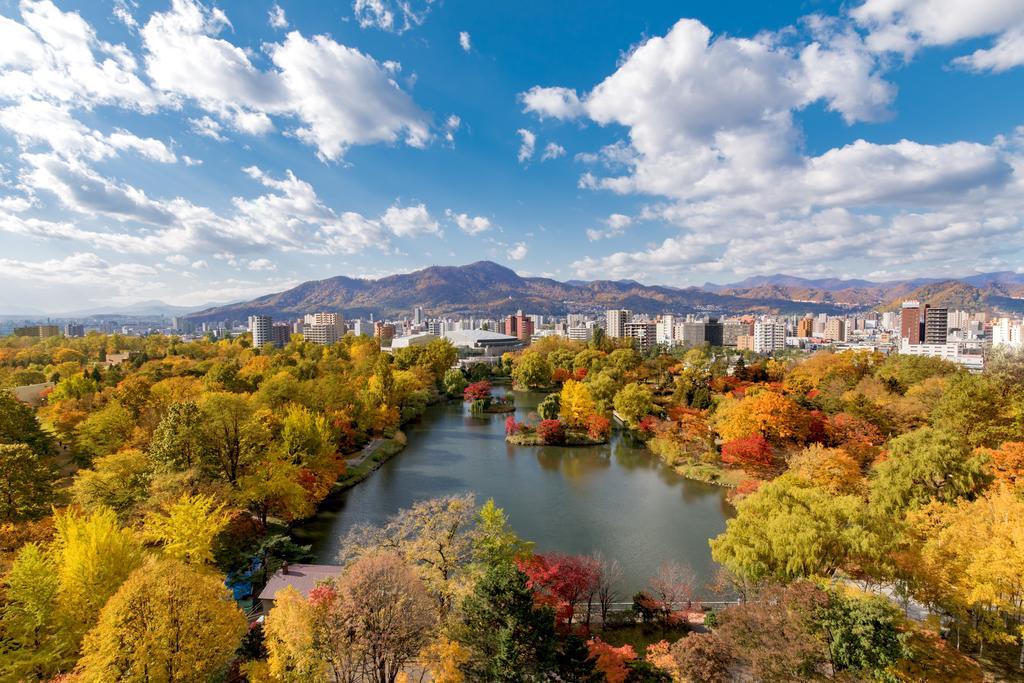 札幌公園飯店中島公園景色