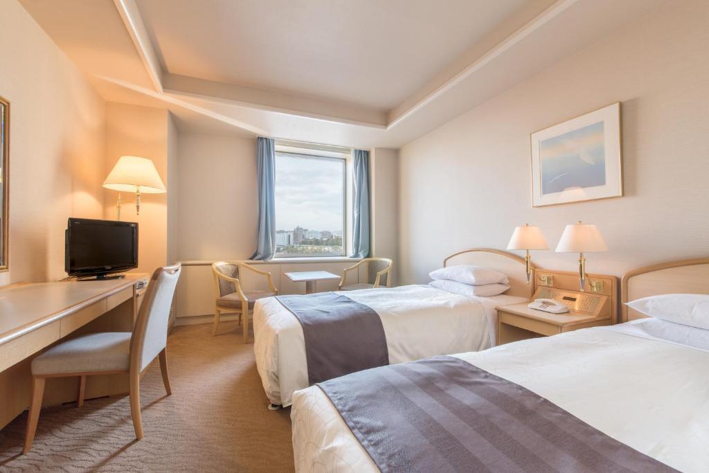 札幌公園飯店標準雙床房