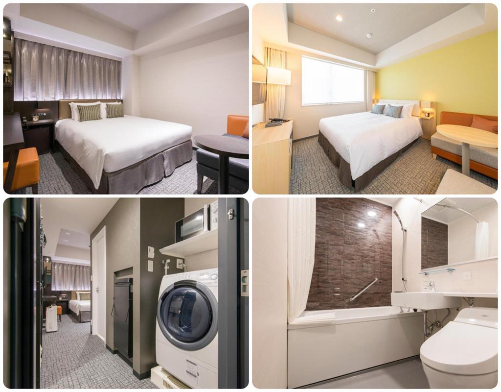 博多東急Stay飯店房間Moderate、Comfort雙人床房