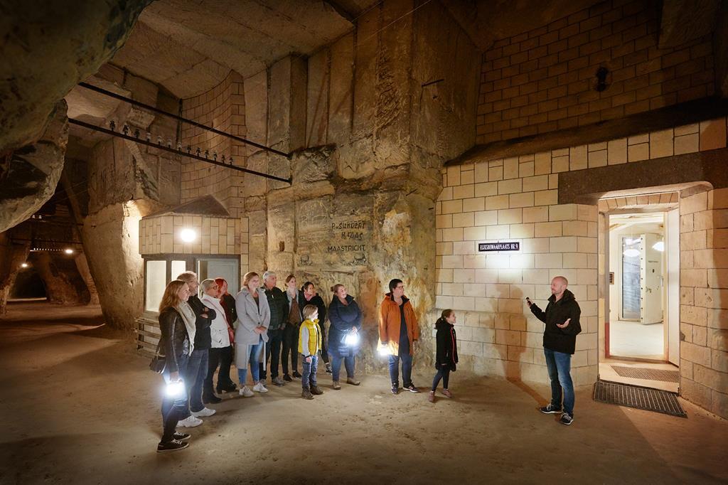 馬斯垂克聖彼得堡地下洞穴