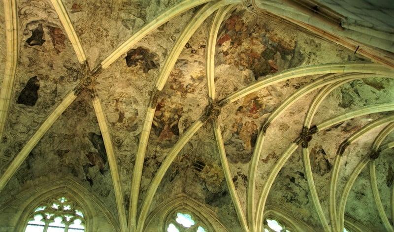 馬斯垂克天堂書店屋頂壁畫